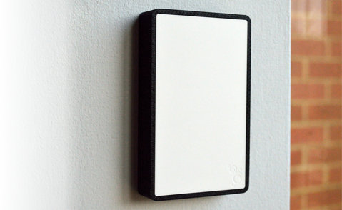 It is then discreetly connected to both your apartment door and entry phone using flat white cable. & Sherlock